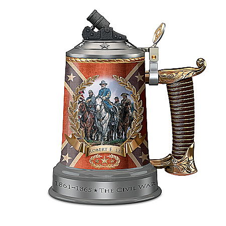 Stein: Civil War General Robert E. Lee Confederate Stein