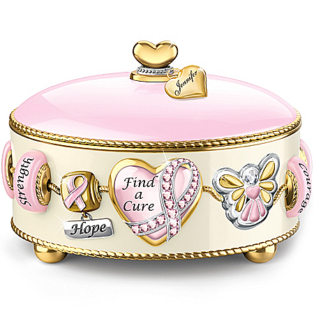 Personalized Music Box: Hope For A Cure
