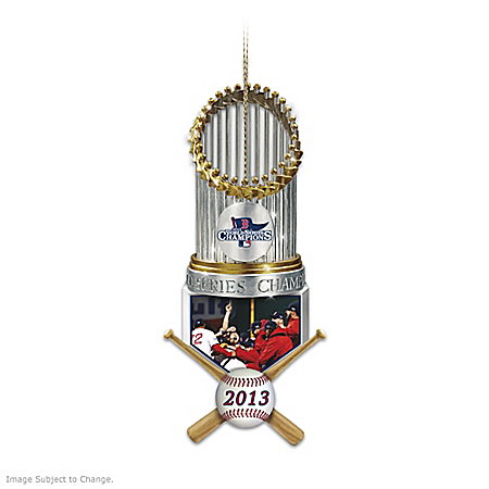 Ornament: Boston Red Sox 2013 World Series Champions Ornament