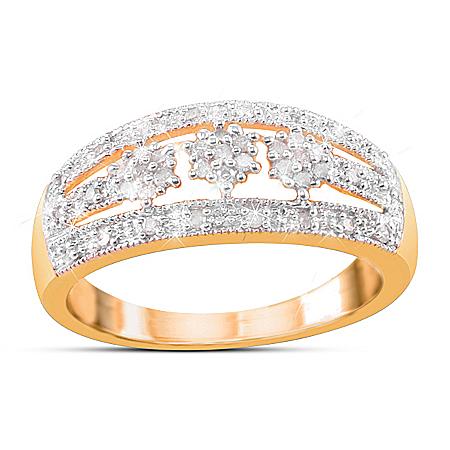 Ring: Majestic Diamond Cluster Ring