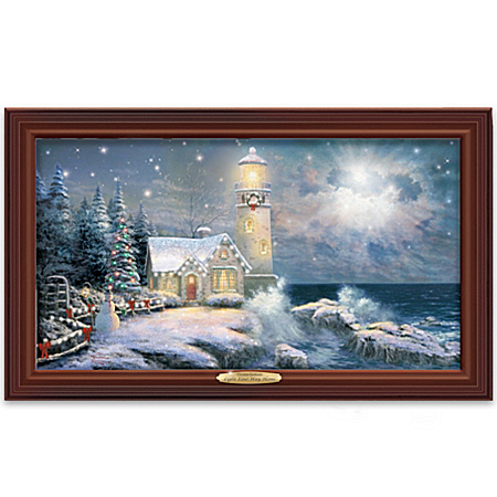 Home Decor Collectibles Wall Decor: Thomas Kinkade Light Your Way Home Wall Decor