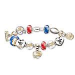 NFL Buffalo Bills Charm Bracelet - Go Bills! #1 Fan