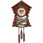 Cuckoo Clock - Thomas Kinkade Timeless Moments Personalized Cuckoo Clock