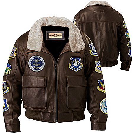 Men's Jacket: Flying Ace Men's Jacket by The Bradford Exchange Online - Lovely Exchange