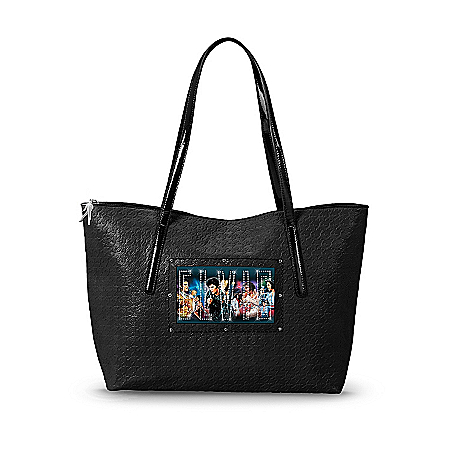 Tote Bag: Light Up The Night With Elvis Tote Bag