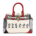 Handbag - Disney Mickey And Minnie Love Story Handbag