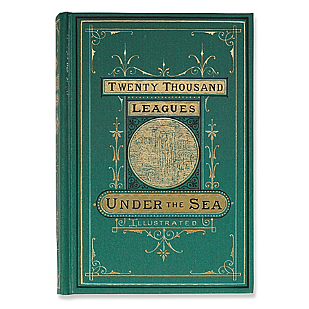 Twenty Thousand Leagues Under The Sea Recreated First Edition Book by The Bradford Exchange Online - Lovely Exchange