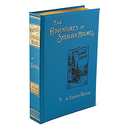 The Adventures Of Sherlock Holmes By A. Conan Doyle: First Edition Replica Book by The Bradford Exchange Online - Lovely Exchange