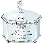 Music Box - Granddaughter, I Love You Personalized Music Box
