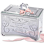 Personalized Granddaughter Music Box - Today, Tomorrow & Always