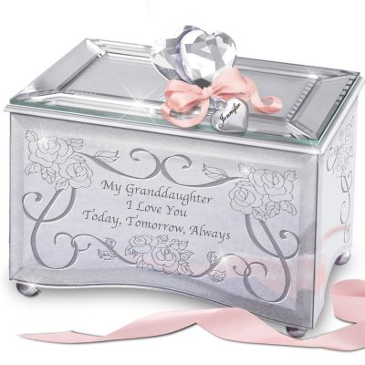 Bradford Exchange Personalized Granddaughter Today, Tomorrow & Always