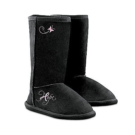 Photo of Women's Boots: Walking In Hope Women's Short Boots by The Bradford Exchange Online