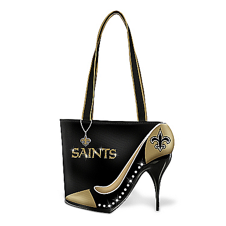 Women's Handbag: Kick Up Your Heels Saints Handbag