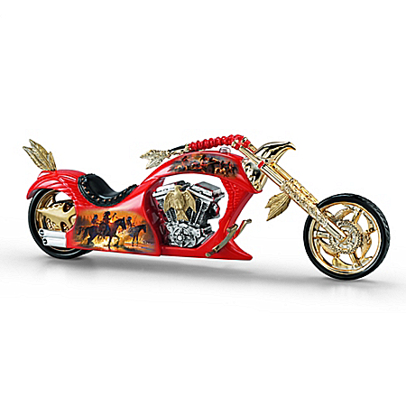 Figurine: Spirit Of The Road Noble Guardian Motorcycle Figurine