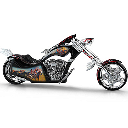 Figurine: Mystic Cruiser Motorcycle Figurine