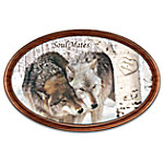 Collector Plate: Soul Mates Personalized Masterpiece Framed Plate