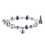 Bracelet - Go Detroit Tigers! #1 Fan Charm Bracelet