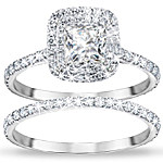 Women's Ring - A Love Like No Other Personalized Bridal Ring Set