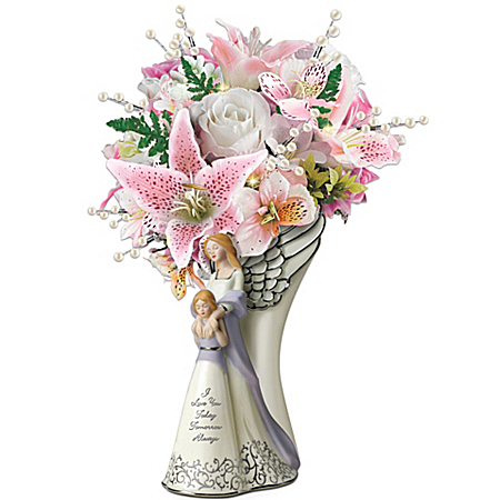 Table Centerpiece: I Love You, Today, Tomorrow, Always Table Centerpiece by The Bradford Exchange Online - Lovely Exchange