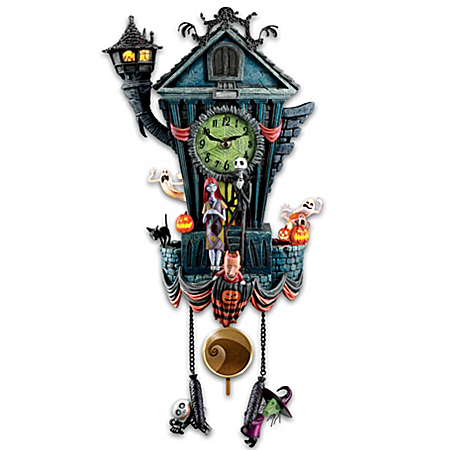 click for Full Info on this Cuckoo Clock: The Nightmare Before Christmas Cuckoo Clock