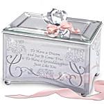 Personalized Music Box: Granddaughter, You're A Dream Come True