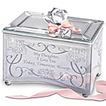 Personalized Daughter Music Box - Today, Tomorrow & Always