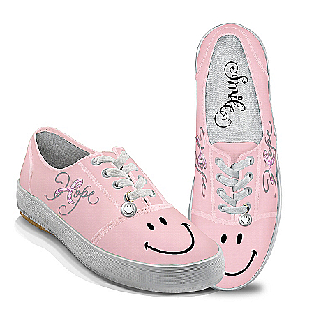 Women's Shoes: Hope And A Smile Women's Shoes by The Bradford Exchange Online - Lovely Exchange