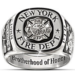 Ring - Brotherhood Of Honor Personalized Ring
