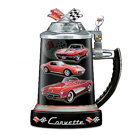 Stein: Chevy Corvette Commemorative Stein
