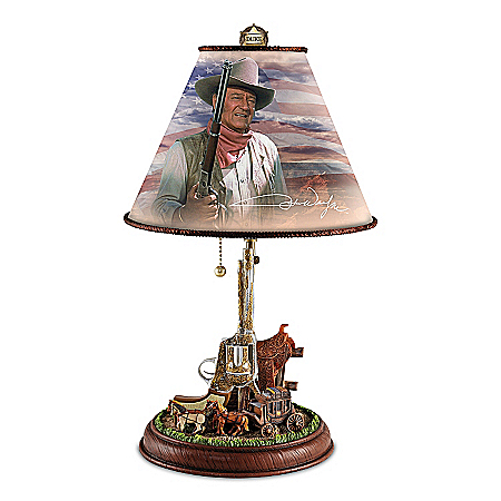 Lamp: John Wayne: Straight Shooter Accent Lamp