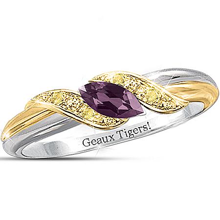 Ring: Pride Of LSU Tigers - Jewelry