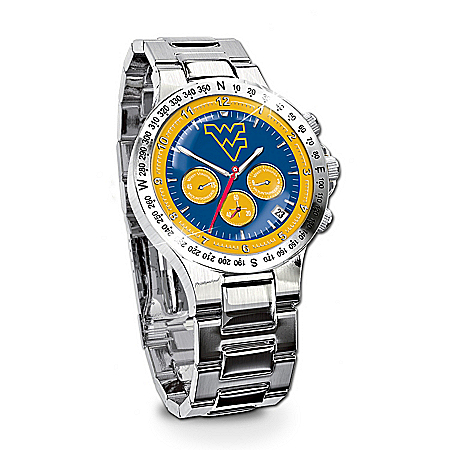 Men's Collector's Watch: West Virginia Mountaineers