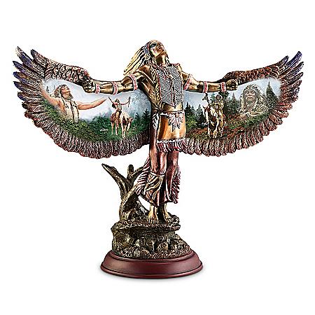 Sculpture: Summoning The Chiefs Sculpture