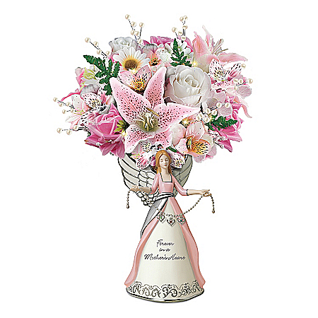 Forever In A Mother's Heart  Tabletop Centerpiece