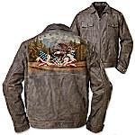 Men's Jacket - Land Of The Free Men's Jacket