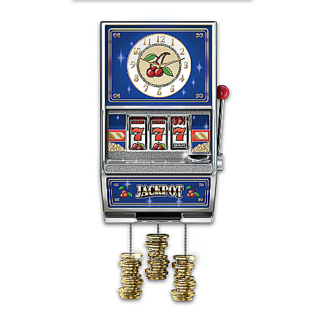 JackpotWall Clock