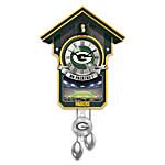 Green Bay Packers Cuckoo Clock