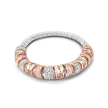Photo of Women's Bracelet: Nature's Healing Touch Bracelet by The Bradford Exchange Online
