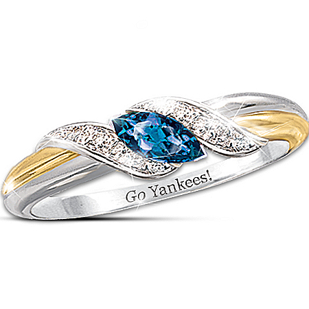 Pride Of New York - Yankees Embrace Ring