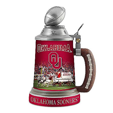 Stein: Oklahoma Sooners Stein