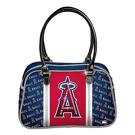 Handbag: Custom Imported Los Angeles Angels Of Anaheim City Chic Designer Handbag