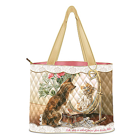 Tote Bag: Fairest Of Them All Tote Bag by The Bradford Exchange Online - Lovely Exchange