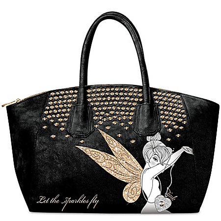 Disney Tinkerbell Handbag: Let The Sparkles Fly Tinker Bell Handbag