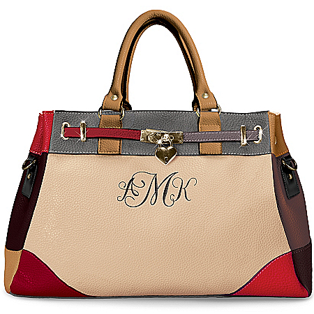Handbag: My Personal Style Contemporary Personalized Handbag by The Bradford Exchange Online - Lovely Exchange