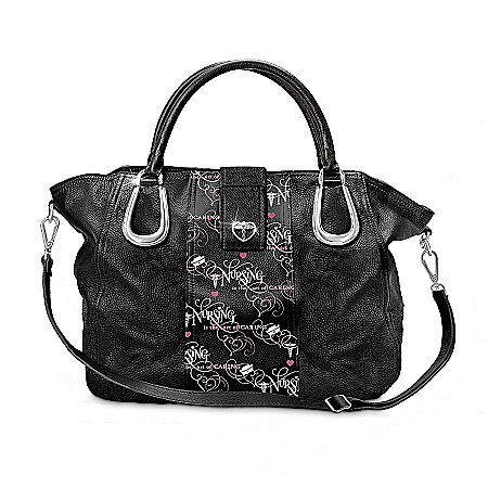 Gifts for Nurses Nursing Is The Art Of Caring Handbag