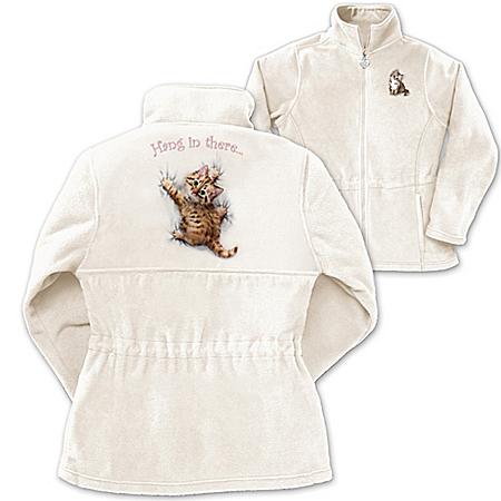 Women's Jacket: Kitten Kutie Women's Jacket