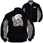 Jacket - U.S. Military Pride Veterans Salute Men's Jacket