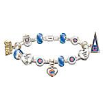 MLB Charm Bracelet - Go Cubs! #1 Fan