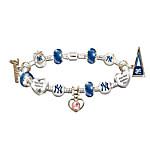 MLB Charm Bracelet - Go Yankees! #1 Fan
