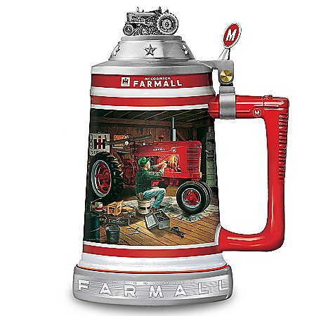 Stein: Farmall Commemorative Stein